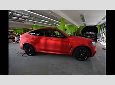 Dia Show Tuning Chrom Rot matt Folierung by Print Tech BMW