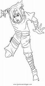 Naruto, Sasuke, 03, Gratis, Malvorlage, In, Comic
