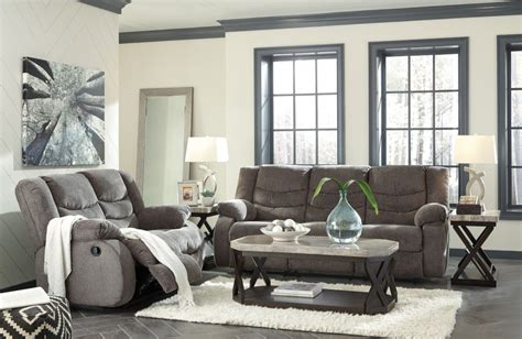 living room furniture groupings tulen grey reclining sofa loveseat 98606 88 86 reclining living room groups factory