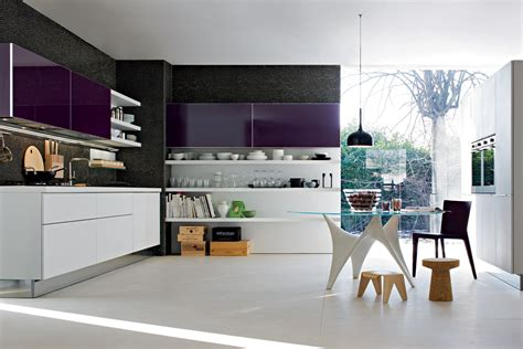 cuisine violette kitchen designs with personality