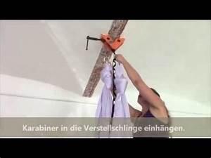 Hängeschrank Aufhängen Anleitung : anleitung yogatuch aufh ngen youtube ~ Orissabook.com Haus und Dekorationen