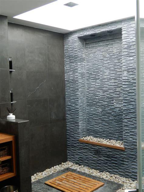 houzz hidden shower drain design ideas remodel pictures