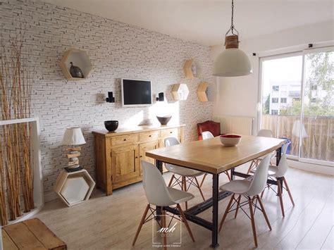 cuisine salle à manger cuisine salle à manger indus scandinave