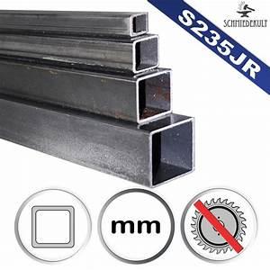 Stahlrohr 100 Mm : 10 x 10 x 1 5 bis 1000 mm vierkantrohr quadratrohr stahl ~ Watch28wear.com Haus und Dekorationen