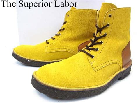 The Superior Labor - Men's Labor Boots (Yellow Suede/Brown ...