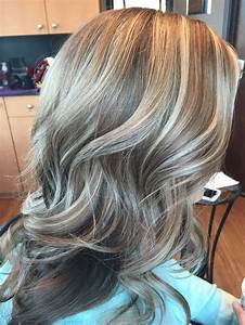 Brown Hair With Light Ash Highlights Highlight Lowlight Warm And Cool Tones Gray Hair