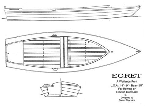 Wooden Punt Boat Plans by Rowing Craft Page 2 Woodenboat Magazine