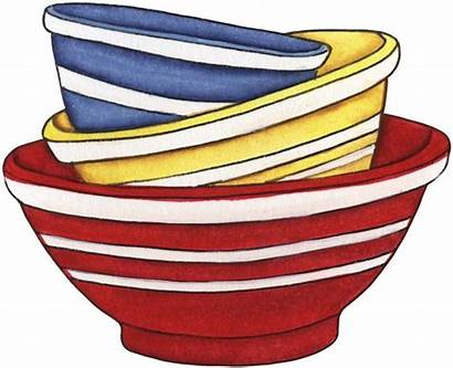 Clipart Stack Bowl Mixing Kitchen Bowls Recipe