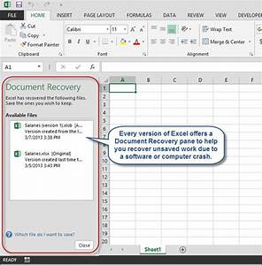accountingweb39s top five excel tips from 2013 accountingweb With recover documents not saved