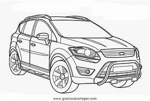 Malvorlagen Ford Kuga