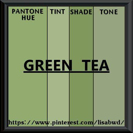 pantone seasonal color swatch green tea my pantone seasonal color swatch s color swatches