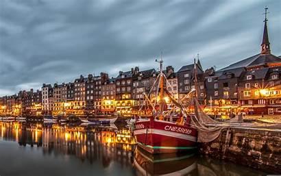 Europe France Port Honfleur 4k Wallpapers Desktop