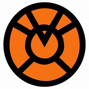 Orange Lantern Corps Symbol fill by mr-droy on DeviantArt