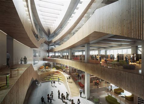Calgary's New Central Library And Library Plaza By