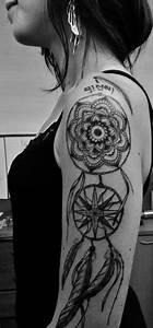 Tatouage Capteur De Rêve : tatouage attrape r ve paule bras tattoo by american body art pinterest tatouage ~ Melissatoandfro.com Idées de Décoration