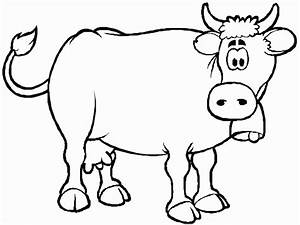 coloring pages of a cow - cow coloring book pages coloring pages