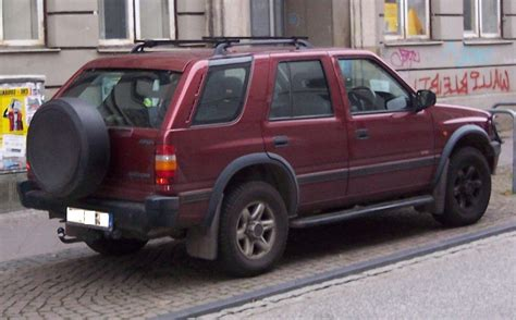 opel frontera 1995 1995 opel frontera a sport pictures information and