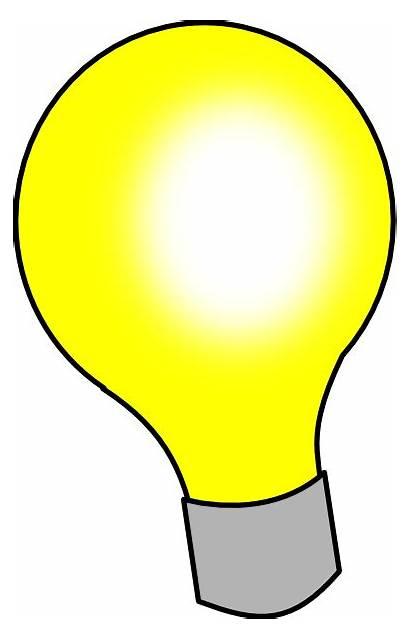 Bulb Clip Clipart Bulbs Background Idea Cliparts