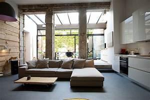 Deco Salon Contemporain : homify 360 un loft moderne et urbain ~ Melissatoandfro.com Idées de Décoration