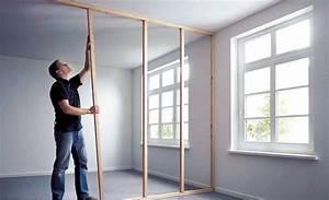 Glaswand Selber Bauen : trennwand bauen mit t r zx69 hitoiro ~ Lizthompson.info Haus und Dekorationen