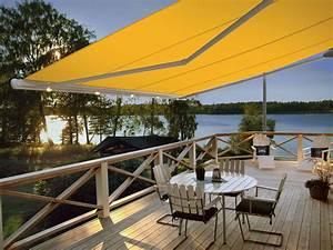 Markisen fur terrasse und balkon smela metallbau for Markise balkon mit designer tapeten colani