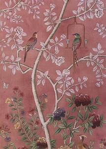 Wall Art Tapeten : cut paste chinoiserie wallpaper wall and decor pinterest tapeten w nde und ~ Markanthonyermac.com Haus und Dekorationen