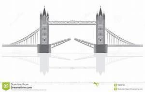 Bridge Illustration Stock Vector  Image Of Travel