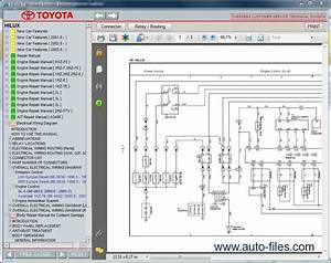 Toyota Hilux Rzn142  Vzn167  Kzn165  Kdn145  Repair Manuals Download  Wiring Diagram  Electronic