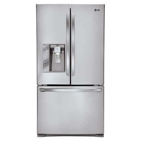 Counter Depth Refrigerator Dimensions Samsung by Lg French Door Refrigerator 20 7 Cu Ft Lfx21776st Sears