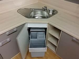 Nobilia musterkuche raffinierte l kuche mit eckspule in for Küche mit eckspüle