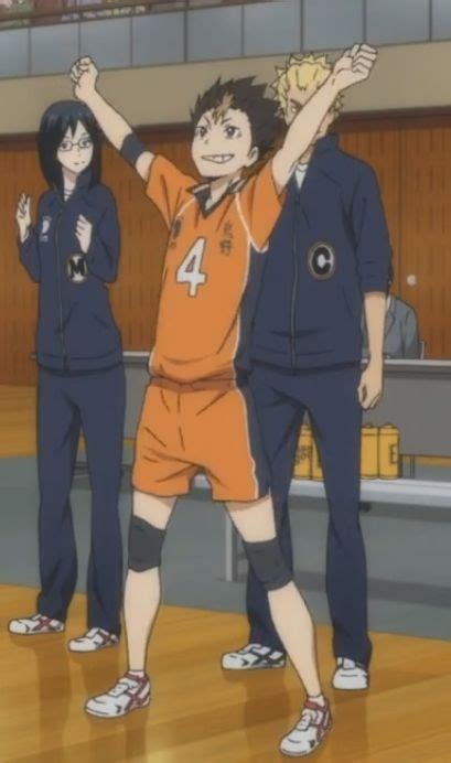 times nishinoya looked  cute  tiny
