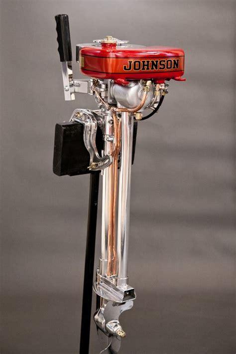 johnson outboard model  daniels antiques