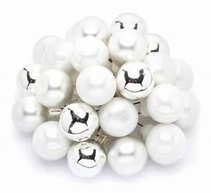 Weihnachtskugeln Weiß Silber : weihnachtskugeln am draht wei silber 2 cm 24 st ck online kaufen buttinette bastelshop ~ Sanjose-hotels-ca.com Haus und Dekorationen