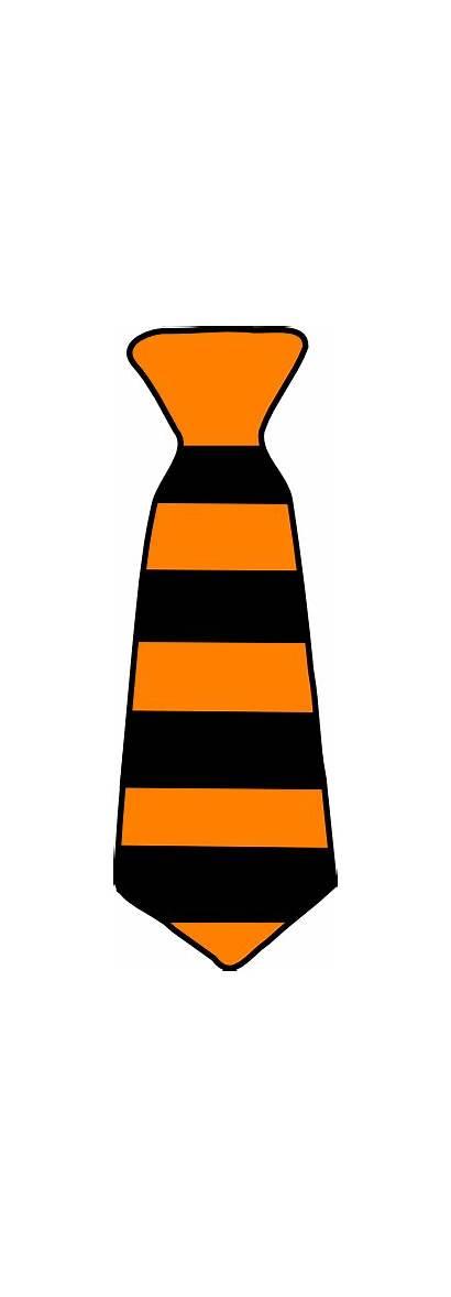Tie Striped Clipart Halloween Clip Bowtie Stripe