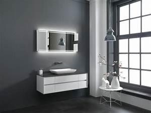 la colonne de salle de bain nos propositions en 58 photos With salle de bain sol gris mur blanc