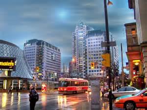 Toronto Ontario Canada City