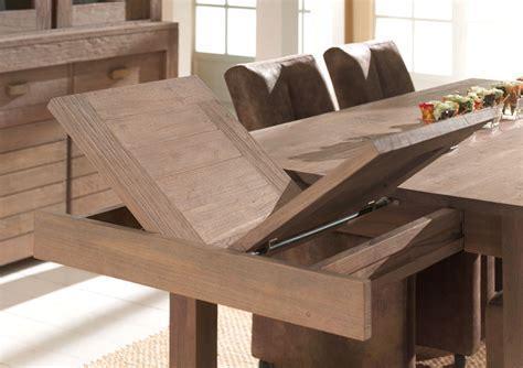 alinea luminaire cuisine table sale à manger avec rallonge intégrée