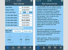 Depo Calendar app could significantly improve