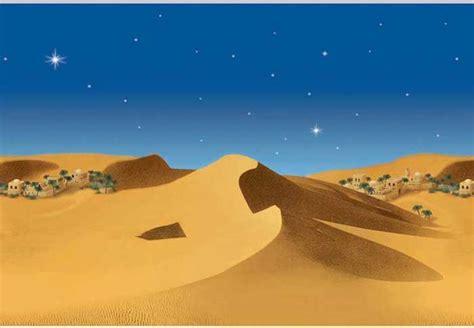 fondo de belen  paisaje de desierto oliver art