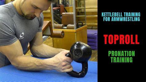wrestling arm training kettlebell
