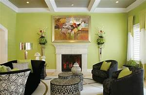 Green, Living, Room, Ideas, In, East, Hampton, New, York