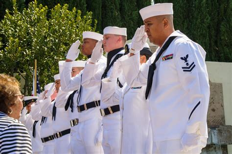 DVIDS - Images - US Navy military honors for Seaman 1st ...