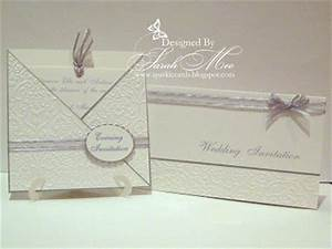 sparkle cards wedding invites With cuttlebug embossed wedding invitations
