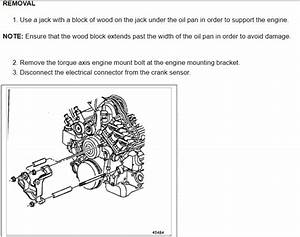 Replacing Serpentine Belt  Engine Mechanical Problem 1997