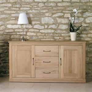 Mobel Oak Large Sideboard Wooden Furniture Store