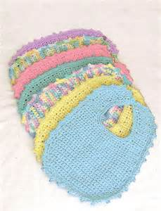 Easy Crochet Baby Bib Pattern