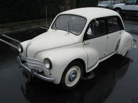 1959 Renault 4cv Information And Photos Momentcar