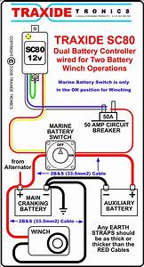 Winch  2nd Battery Isolation Necessary