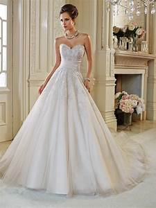 Tulle a line wedding dress with back corset for A line corset wedding dress