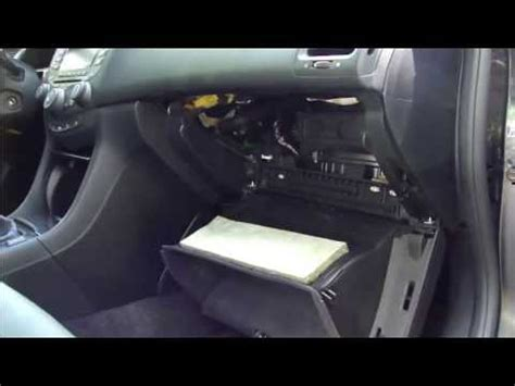 2007 honda accord cabin air filter how to replace cabin air filter honda accord years 2003